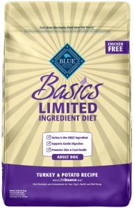 Blue Buffalo Basics Limited Ingredient Grain Free Formula Turkey & Potato Recipe Adult Dry Dog Food