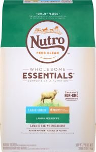 Nutro Wholesome Essentials Large Breed Puppy Lamb & Rice Recipe Dry Dog Food