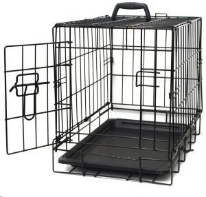 Paws & Pals Single Door Collapsible Wire Dog Crate