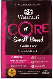 Wellness Core Grain Free Small Breed Puppy Deboned Turkey Recipe Dry Dog Food