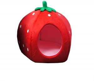 Yml Strawberry Covered Cat & Dog Bed