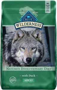 Blue Buffalo Wilderness Duck Recipe Grain Free Dry Dog Food