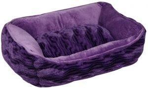 Dogit Style Wild Animal Rectangular Reversible Bolster Dog Bed