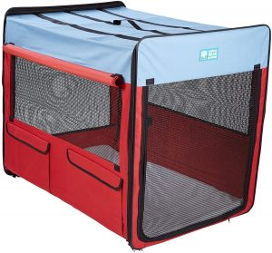 Guardian Gear Single Door Collapsible Soft Sided Dog Crate