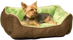 K&h Pet Products Self Warming Two Tone Lounge Sleeper Bolster Cat & Dog Bed