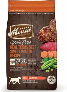 Merrick Real Texas Beef & Sweet Potato
