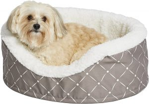 Midwest Cradle Nesting Orthopedic Bolster Cat & Dog Bed