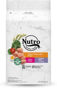 Nutro Natural Choice Small Breed Senior Chicken