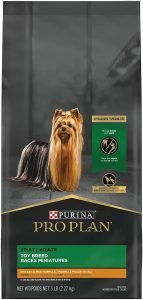 Purina Pro Plan Adult Toy Breed Chicken & Rice Formula Dry Dog Food