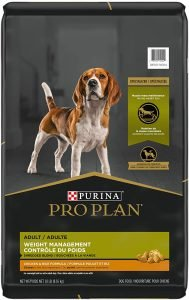 Purina Pro Plan Adult Weight Management Shredded Blend Chicken & Rice Formula Dry Dog Food