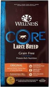 Wellness Core Grain Free Large Breed Chicken & Turkey Dog Food