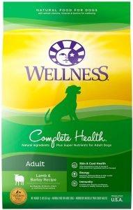 Wellness Complete Health Adult Lamb & Barley Recipe Dry Dog Food