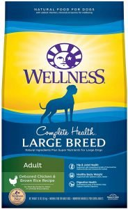 Wellness Complete Health Large Breed Adult Deboned Chicken & Brown Rice Recipe Dry Dog Food