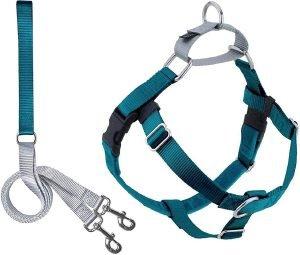 2 Hounds Design Freedom No Pull Nylon Dog Harness & Leash