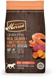 Merrick Grain Free Real Salmon & Sweet Potato Recipe Dry Dog Food