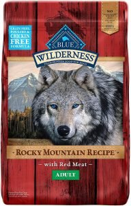 Blue Buffalo Wilderness Rocky Mountain Recipe With Red Meat Adult Grain Free Dry Dog Food