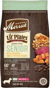 Merrick Lil' Plates Grain Free Real Chicken & Sweet Potato Senior Dry Dog Food