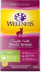 Wellness Complete Health Small Breed Adult Turkey & Oatmeal Recipe Dry Dog Food