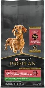 Purina Pro Plan Small Breed Adult Sensitive Skin & Stomach Formula Dry Dog Food