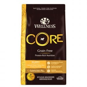 Wellness Core Grain Free Puppy Chicken & Turkey Recipe Dry Dog Food